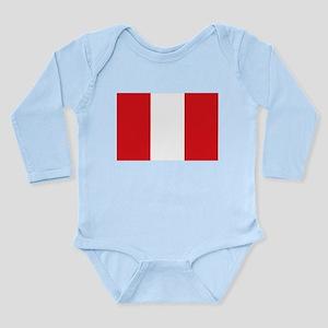 Peru Long Sleeve Infant Bodysuit