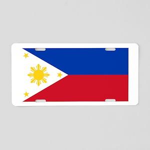 Philippines Aluminum License Plate