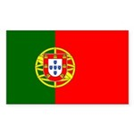 Portugal Sticker (Rectangle 50 pk)