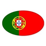 Portugal Sticker (Oval 10 pk)