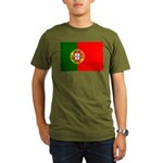 Portugal Organic Men's T-Shirt (dark)
