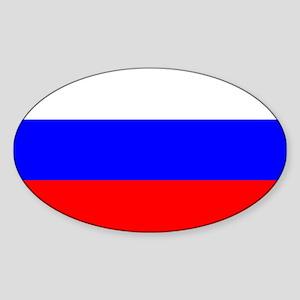 Russia Sticker (Oval)