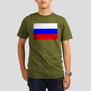 Russia Organic Men's T-Shirt (dark)
