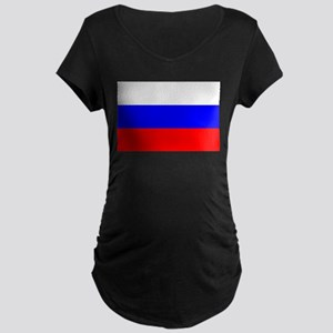 Russia Maternity Dark T-Shirt