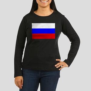 Russia Women's Long Sleeve Dark T-Shirt