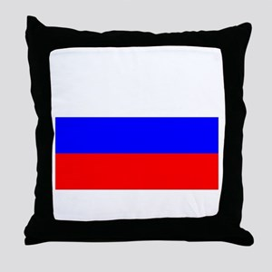 Russia Throw Pillow