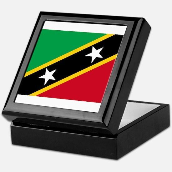 Saint Kitts and Nevis Keepsake Box