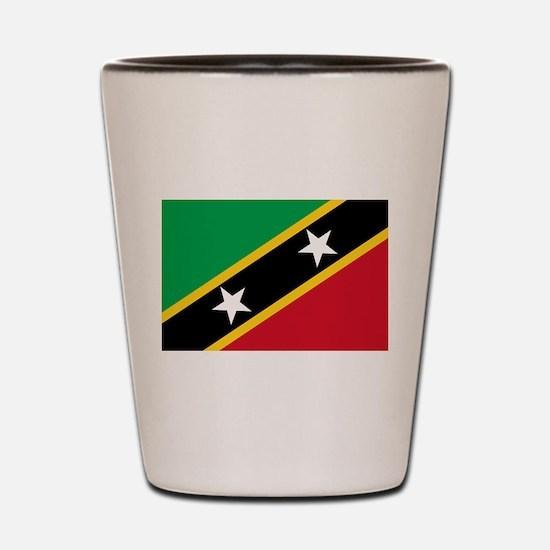 Saint Kitts and Nevis Shot Glass
