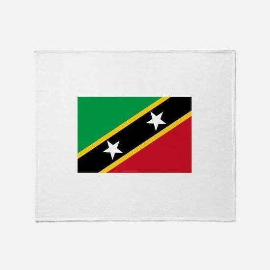 Saint Kitts and Nevis Throw Blanket