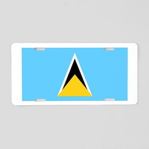 Saint Lucia Aluminum License Plate