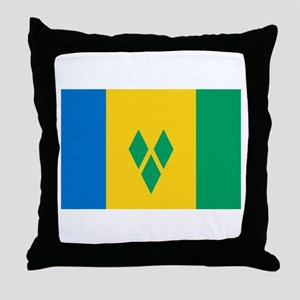 Saint Vincent and the Grenadi Throw Pillow