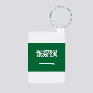 Saudi Arabia Aluminum Photo Keychain