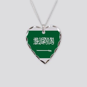 Saudi Arabia Necklace Heart Charm