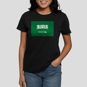Saudi Arabia Women's Dark T-Shirt