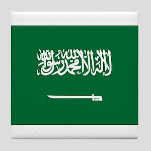 Saudi Arabia Tile Coaster