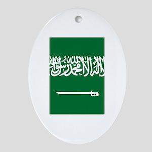 Saudi Arabia Ornament (Oval)