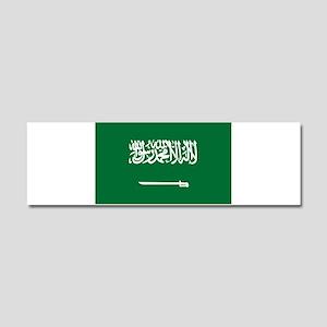 Saudi Arabia Car Magnet 10 x 3