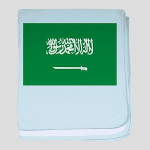 Saudi Arabia baby blanket