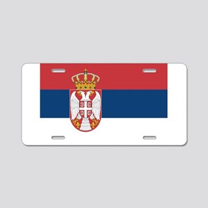 Serbia Aluminum License Plate