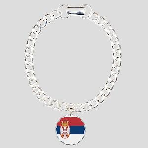 Serbia Charm Bracelet, One Charm