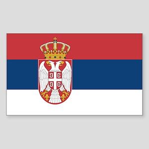 Serbia Sticker (Rectangle)