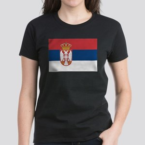 Serbia Women's Dark T-Shirt