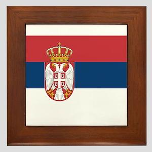 Serbia Framed Tile