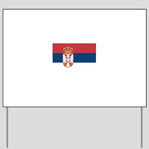 Serbia Yard Sign