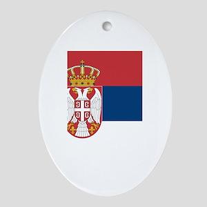 Serbia Ornament (Oval)