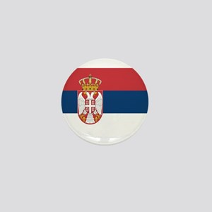 Serbia Mini Button