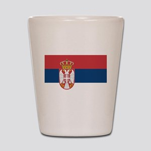 Serbia Shot Glass