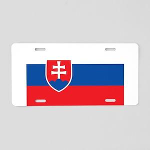 Slovakia Aluminum License Plate