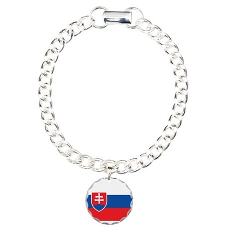 Slovakia Charm Bracelet, One Charm