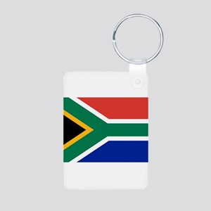 South Africa Aluminum Photo Keychain