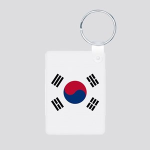 South Korea Aluminum Photo Keychain