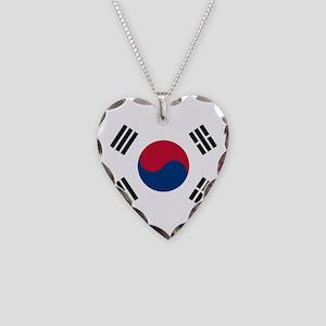 South Korea Necklace Heart Charm