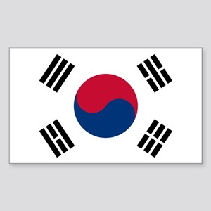 South Korea Sticker (Rectangle)