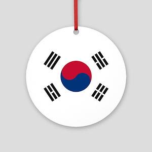 South Korea Ornament (Round)