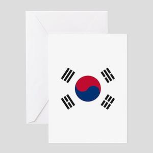 South Korea Greeting Card