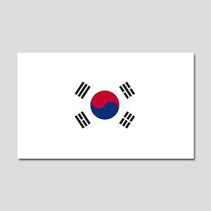 South Korea Car Magnet 20 x 12