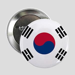 """South Korea 2.25"""" Button"""