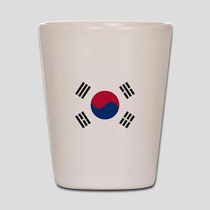 South Korea Shot Glass