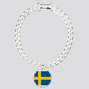 Sweden Charm Bracelet, One Charm