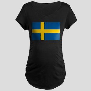 Sweden Maternity Dark T-Shirt