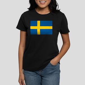 Sweden Women's Dark T-Shirt