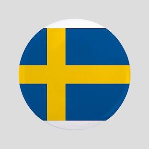 """Sweden 3.5"""" Button"""