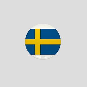 Sweden Mini Button