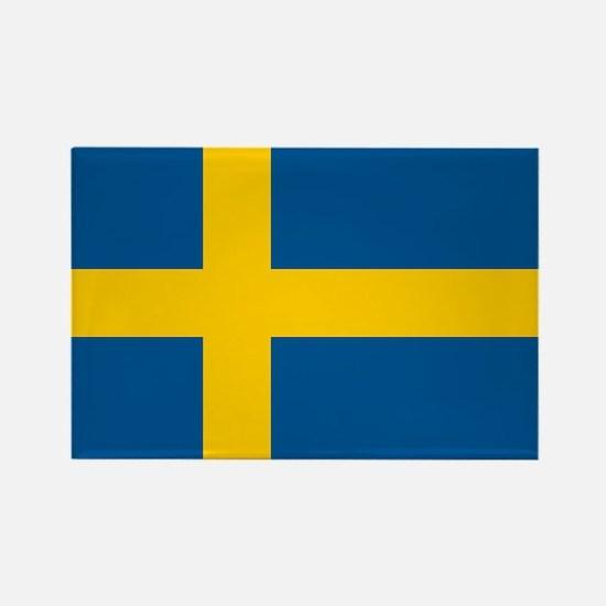 Sweden Rectangle Magnet