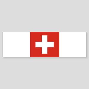 Switzerland Sticker (Bumper)