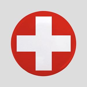 """Switzerland 3.5"""" Button"""